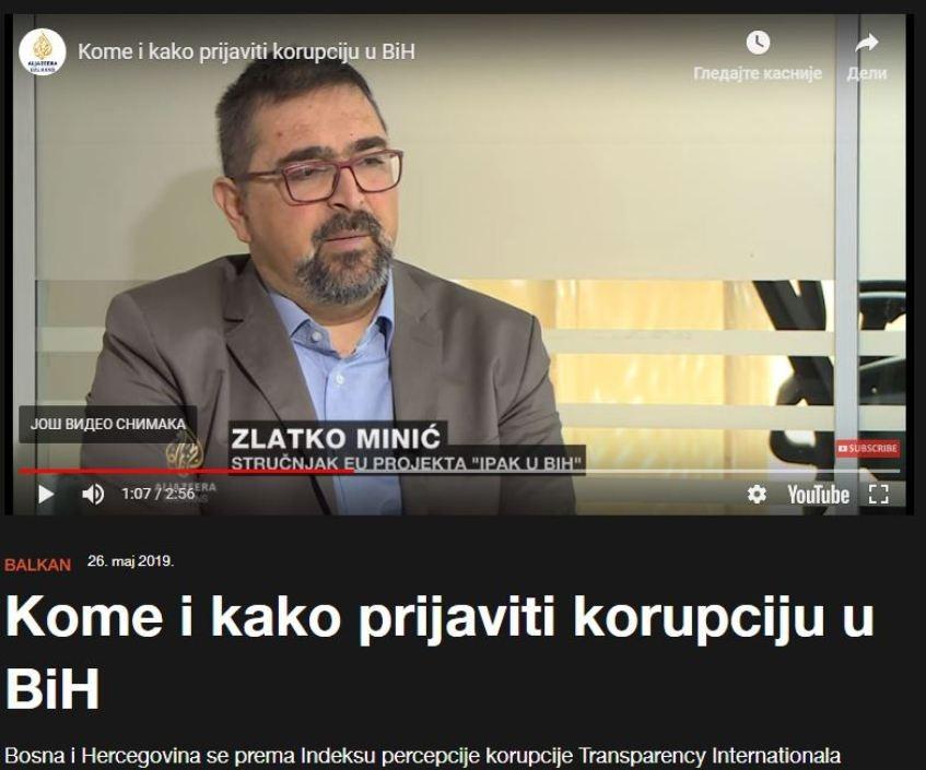 AJB: Kome i kako prijaviti korupciju u BiH