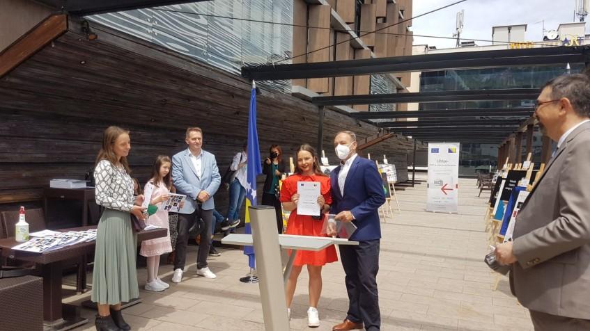 Uručene nagrade pobjednicima konkursa 'Protiv korupcije na kreativan način'