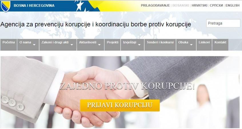 Uposlenim u javnim institucijama u BiH dostupna online antikorupcijska edukacija