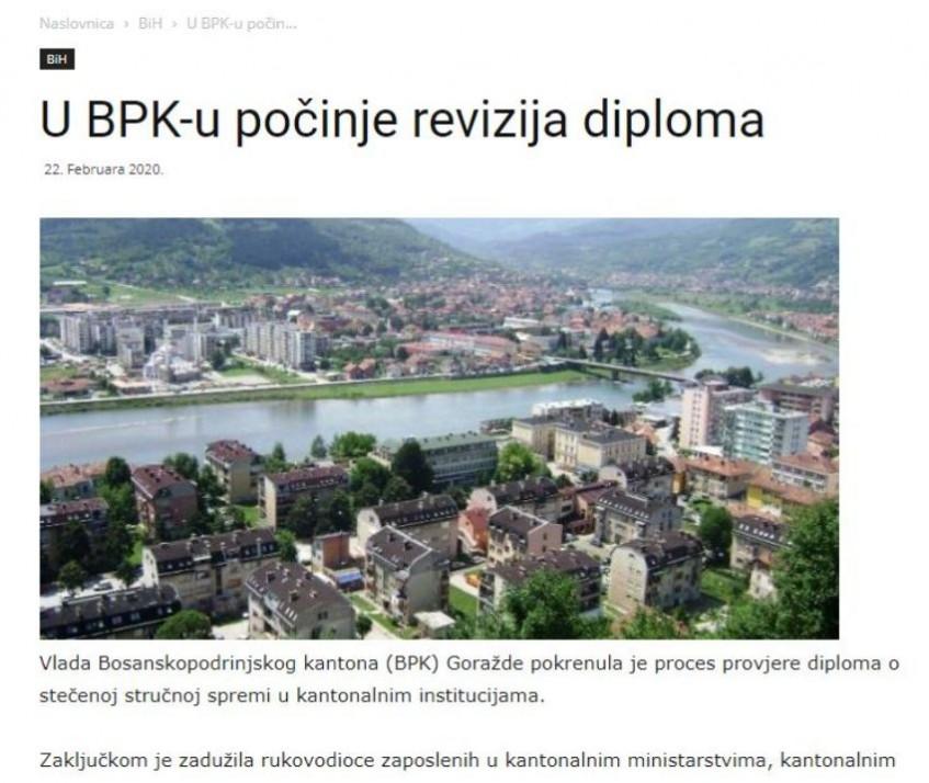 U BPK-u počinje revizija diploma