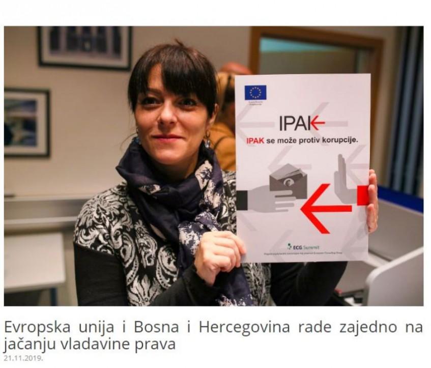 Evropska unija i Bosna i Hercegovina rade zajedno na jačanju vladavine prava