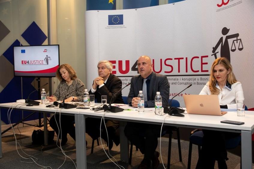 EU4JUSTICE – 2,2 miliona eura podrške EU za borbu protiv organizovanog kriminala i korupcije