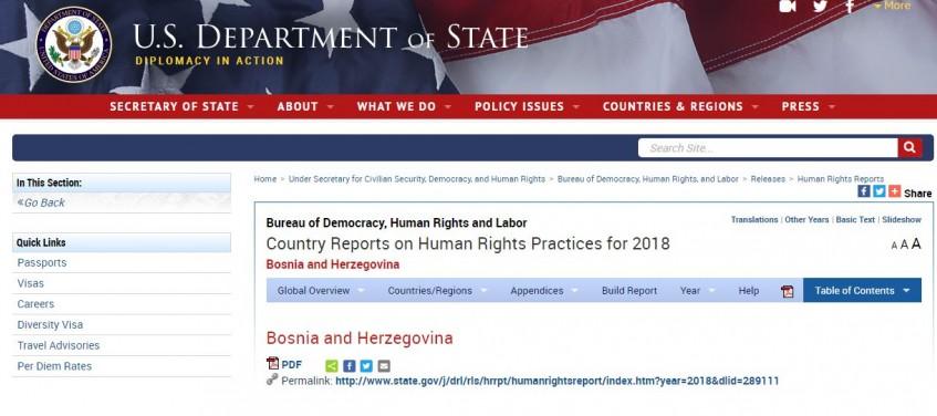 State Department: Koruptivni bh. zvaničnici prolaze bez kazni