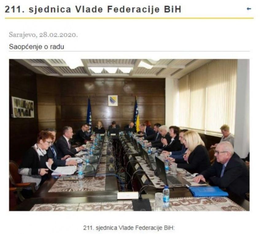 Izvještaj o radu Antikorupcijskog tima Vlade FBiH